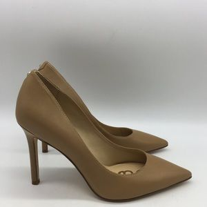 Sam Edelman nude stiletto pumps with pointy toe. 7